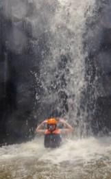 Ayung River Wasserfall