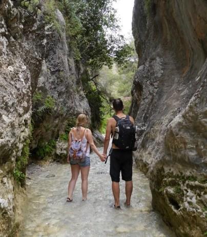 Rio Chillar Canyon