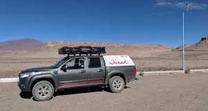 Unser Campervan für unseren Roadtrip durch Argentinien