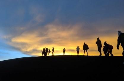 Auf dem Gipfel vom Vulkan Acatenango
