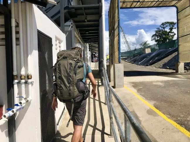 Grenze Sixoala zwischen Panama und Costa Rica