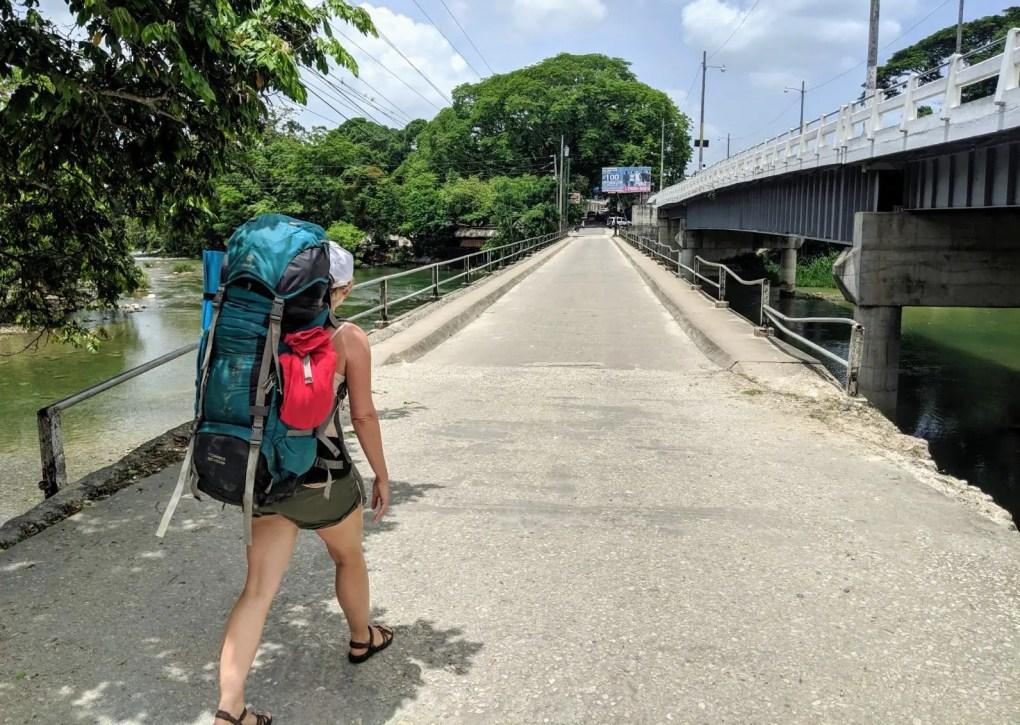 Grenzübergang Guatemala nach Belize
