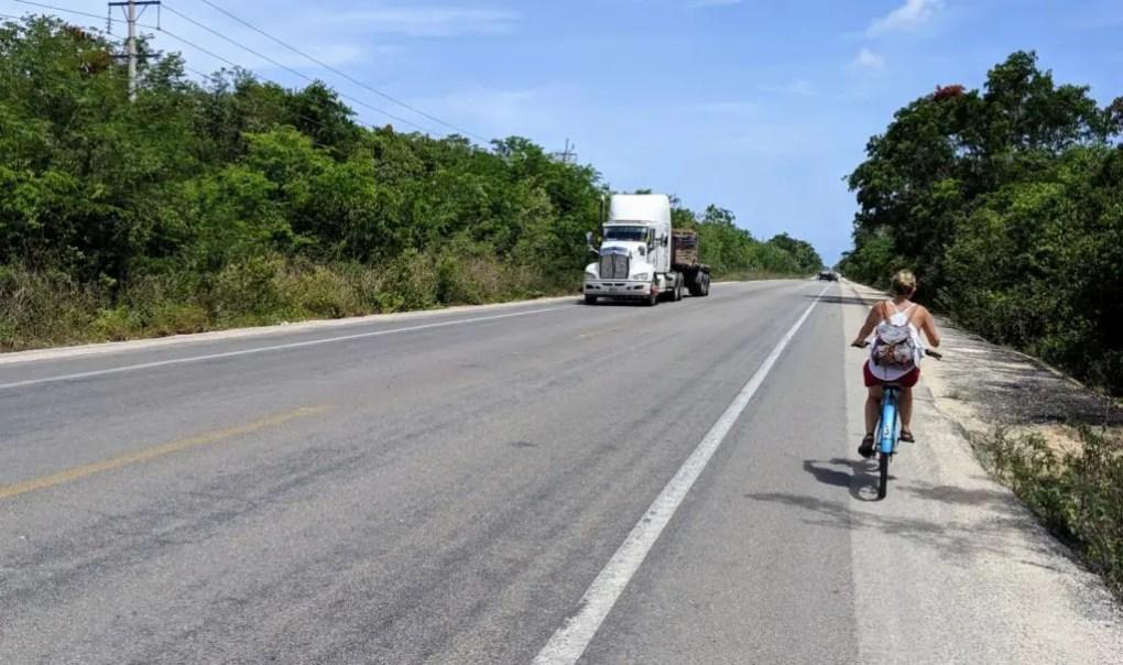 Weg zur Gran Cenote, Tulum