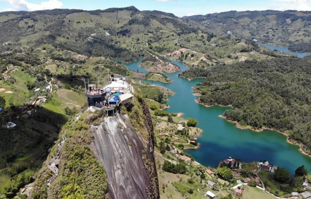 El Penon, Guatape, Kolumbien