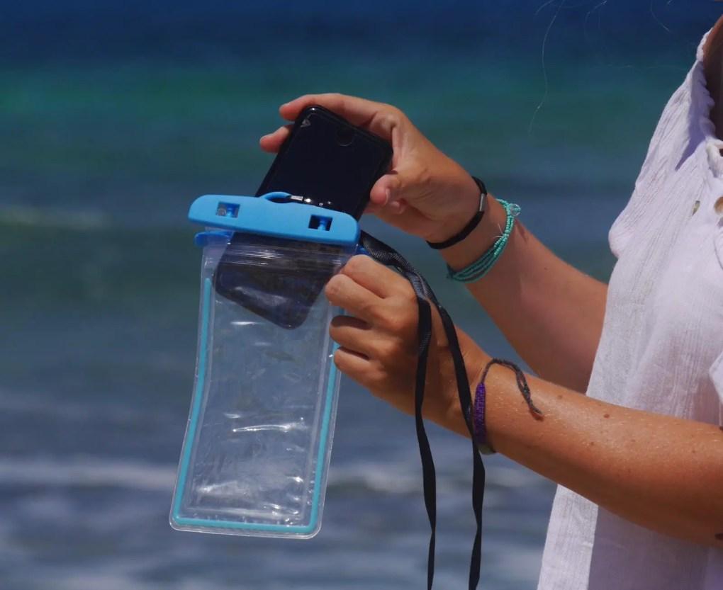 Wasserdichte Handyhülle