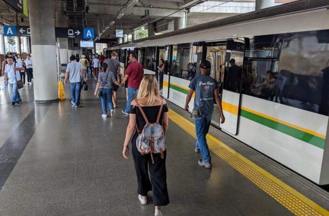 Medellin Metro fahren