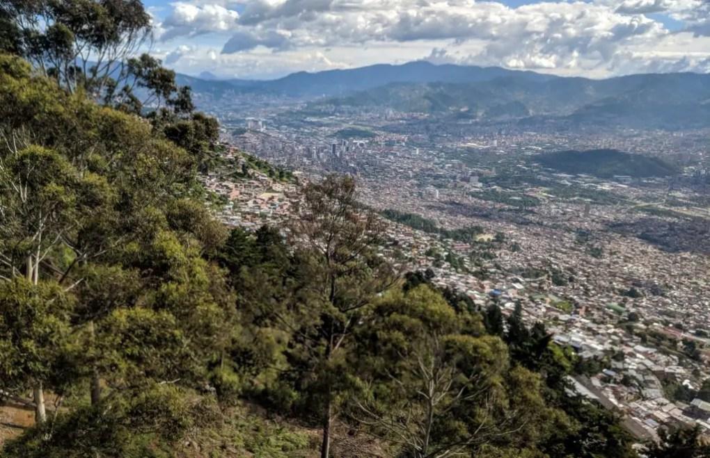Seilbahn Medellin Parque Arvi, Kolumbien