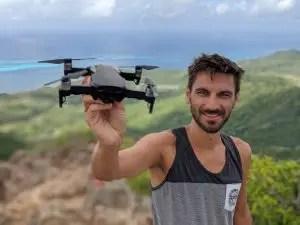 Providencia, The Peak Wanderung mit Drohne