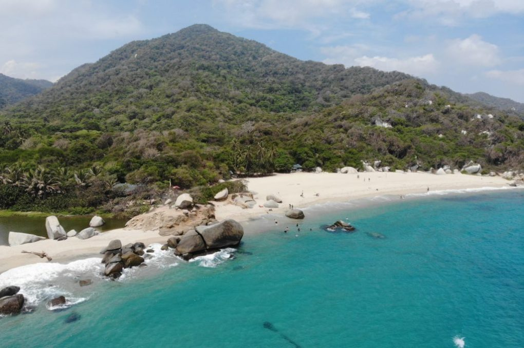 Arrecifes, Tayrona Nationalpark