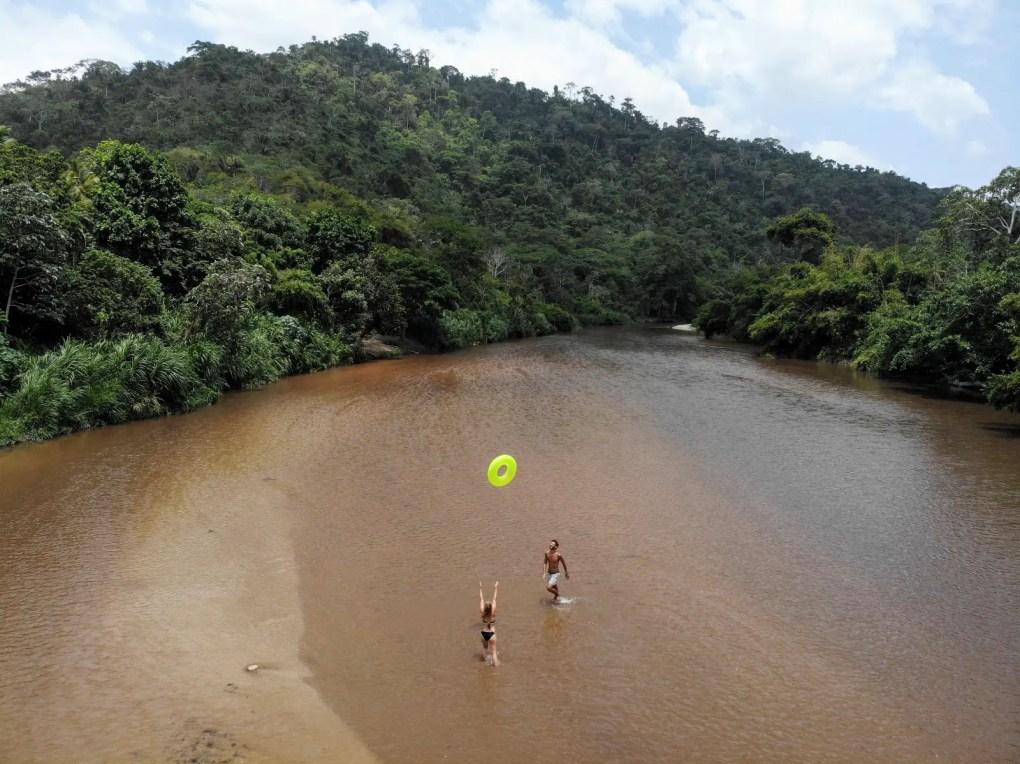 River Tubing in Palomino, Kolumbien