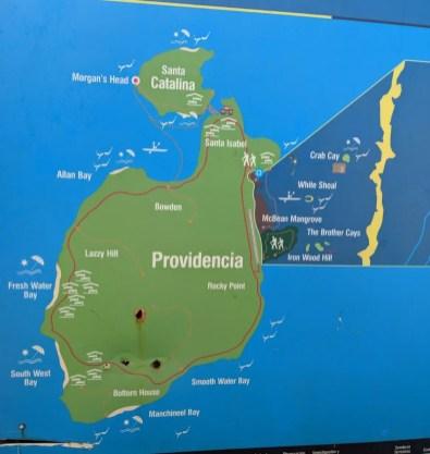 Providencia, Karte