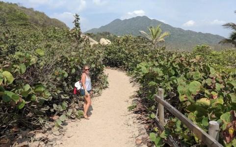 Wandern im Tayrona Nationalpark, Kolumbien
