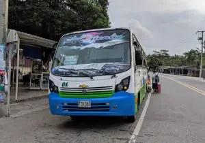 Bus von Palomino zum Tayrona Nationalpark