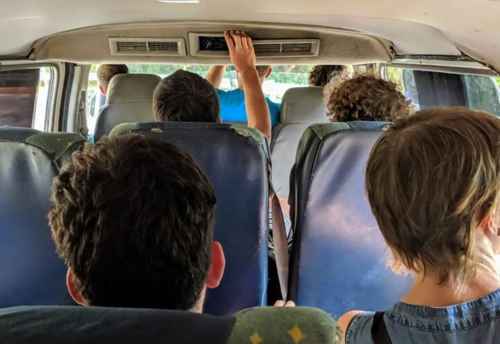 Bus von Santa Marta nach Minca
