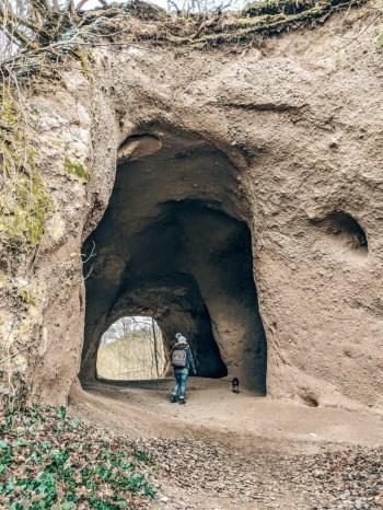 Trasshöhlen Eifelwanderung