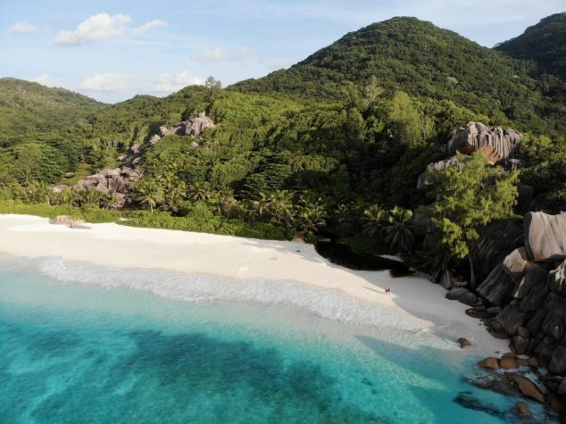 Grand Anse auf La Digue