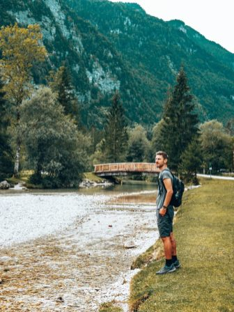 Torrenerbach an der Bluntautalbrücke