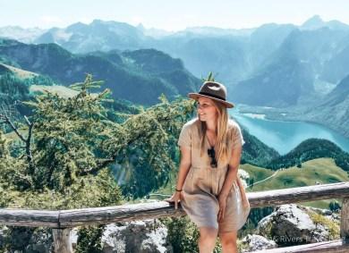 Blick vom Jenner auf den Königssee