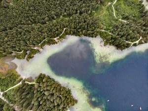 Hintersee Ramsau per Drohne