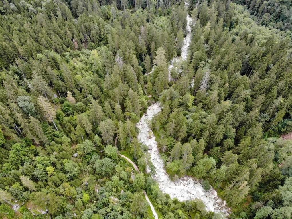 Zauberwald in Ramsau per Drohne