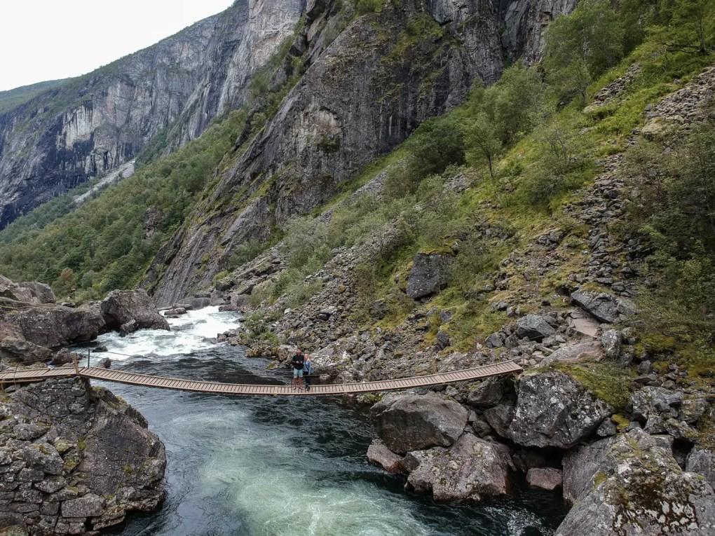 Voringfossen Norwegen | Wanderung zum berühmten Wasserfall