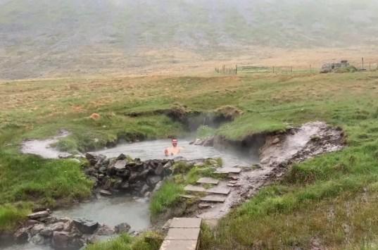 Reykjafjarðarlaug Hot Pot- Island- Westfjorde