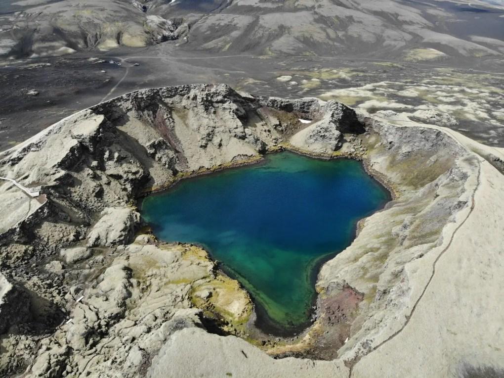 Tjarnargigur Krater Laki