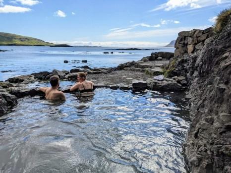 Hellulauf Hot Pot Westfjorde Island