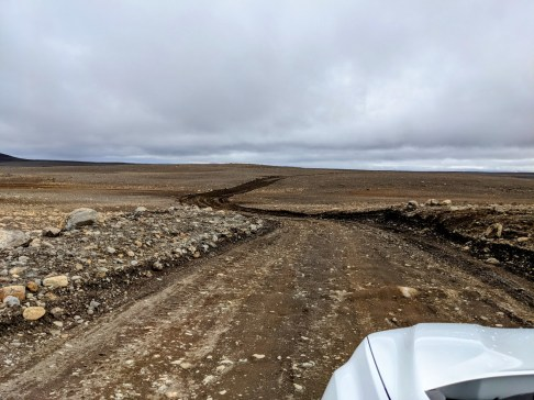 Kerlingarfjöll Hveradalir Geothermalgebiet Island F35 Anreise
