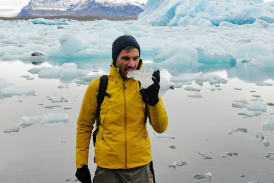 Jökulsárlón Gletscherlagune Island