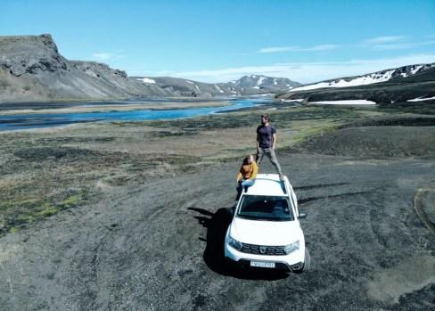 Mietwagen fürs Hochland in Island