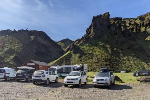 Þakgil Island Camping