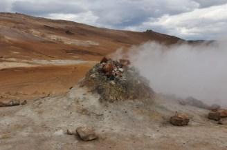 Geothermalgebiet Hverir