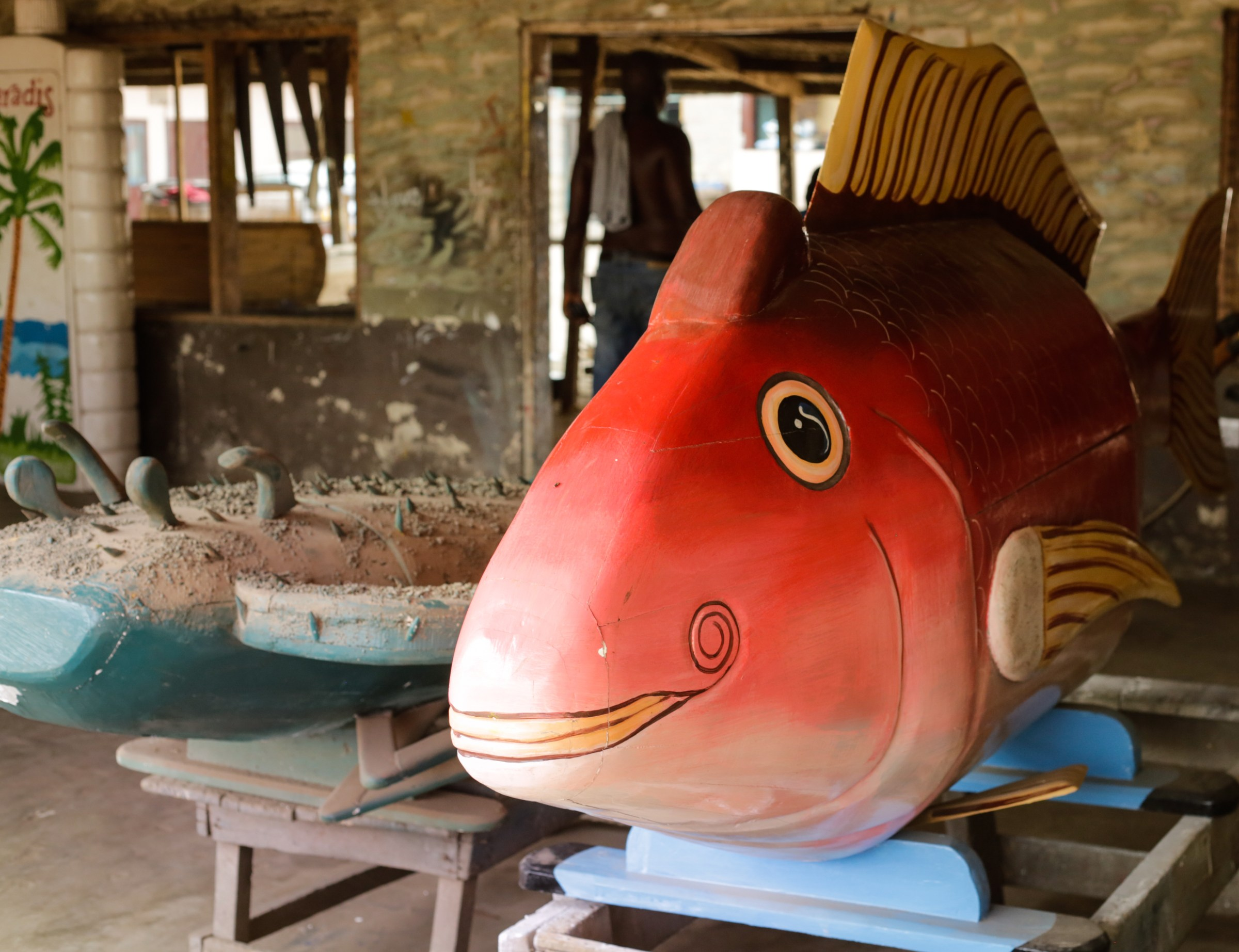The Fantasy Coffins of Ghana