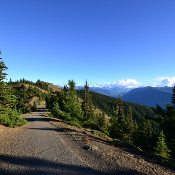 View from the Hurricane Hill trail in Olympic National Park, Washington