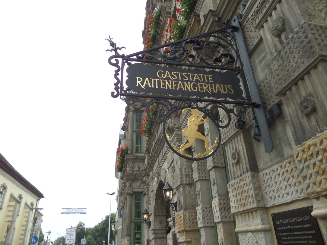 Rat catchers house, Pied Piper, Hamelin, Germany