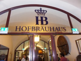 Hofbrauhaus entrance Munich