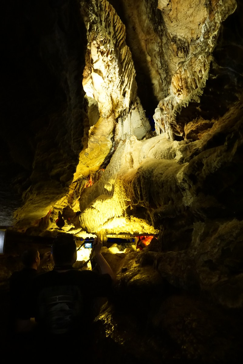 On the Ruby Falls tour in Chattanooga