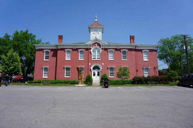 Moore County Courthouse, Lynchburg TN