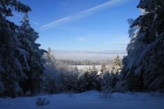 wheelocks overlook in winter
