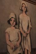 Dos niñas, Alfredo Zalce, 1932