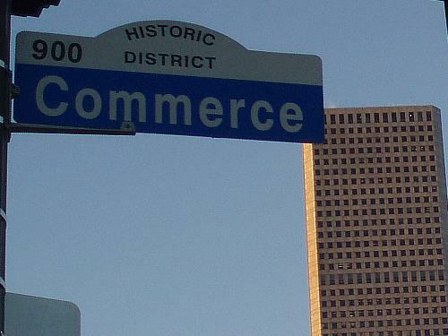 commerce street houston texas usa by roadsofstone