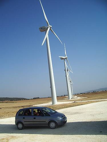 wind turbines zahara de los atunes cadiz spain by roadsofstone