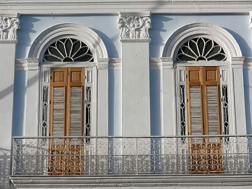 balcony architecture parque marti cienfuegos cuba by roadsofstone