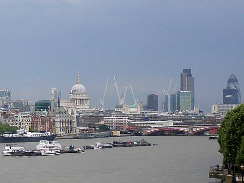 summer 2009 clouds over the city london england by roadsofstone