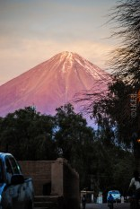 το ηφαίστειο Licancabur (5920 μ.) κυριαρχεί στον ορίζοντα