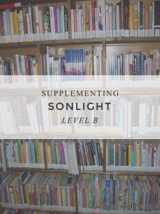 Links for supplementing Sonlight Level B