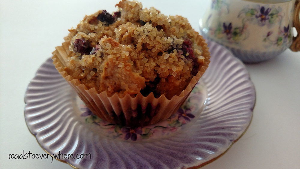 Huckleberry Muffins