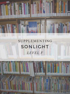 Supplementing Sonlight F