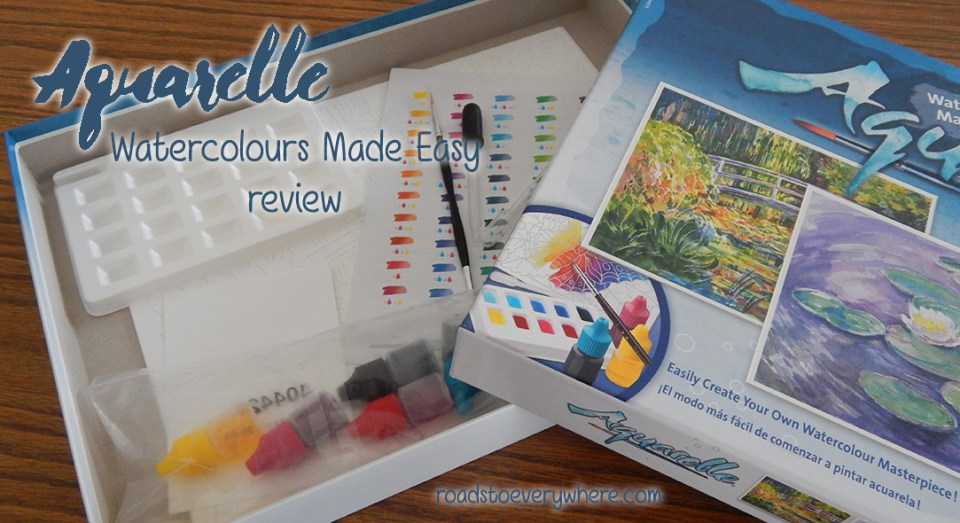 Aquarelle Watercolours Made Easy review